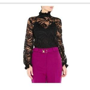 ⚫Emilio Pucci Black Lace Blouse⚫